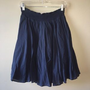Banana Republic Guazy Blue Skirt